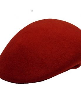 Wool Ascot Cap (Burnt Orange)
